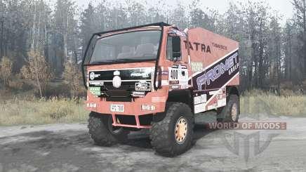 Tatra T815 4x4 Dakar für MudRunner