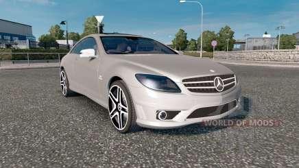 Mercedes-Benz CL 65 AMG (C216) 2007 für Euro Truck Simulator 2