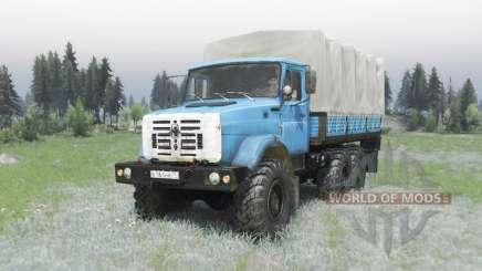 ZIL 4334 modifier l'Armée pour Spin Tires