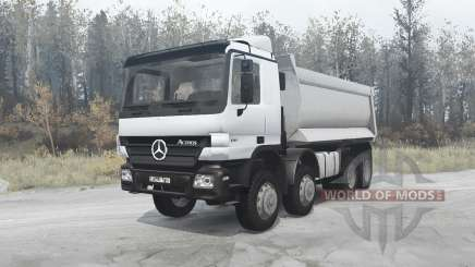 Mercedes-Benz Actros 4141 (MP2) 2003 pour MudRunner