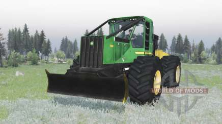 John Deere 748H pour Spin Tires