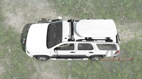 Chevrolet Tahoe (GMT900) 2007 pour Spintires MudRunner