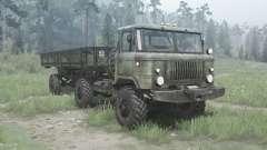 GAS 66К für MudRunner