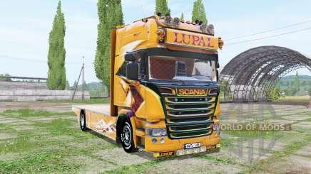 Scania R Topline Lupal für Farming Simulator 2017