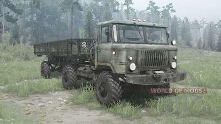 GAZ 66К pour MudRunner