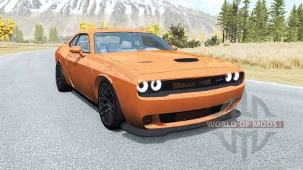 Dodge Challenger SRT Hellcat (LC) 2015 v2.0 pour BeamNG Drive
