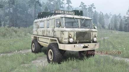 GAZ 66 Castor pour MudRunner