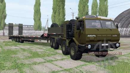 KrAZ 7Э6316 Sibirien für Farming Simulator 2017