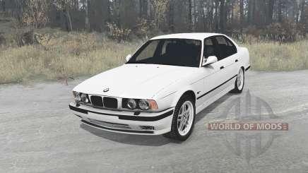 BMW 525iX sedan (E34) 1991 für MudRunner