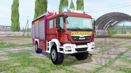 MAN TGM 13.290 Feuerwehr pour Farming Simulator 2017
