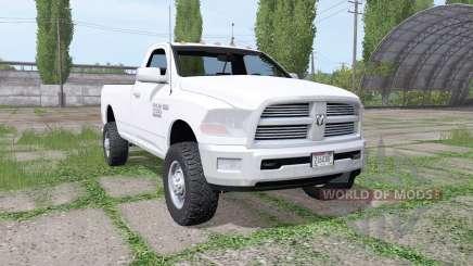 Dodge Ram 2500 Heavy Duty Regular Cab 2012 pour Farming Simulator 2017