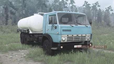 KamAZ 53212 KO-505A für MudRunner