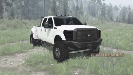 Ford F-350 Super Duty Crew Cab 2011 pour MudRunner