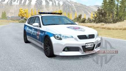ETK 800-Série de la Serbie: la Police v1.01 pour BeamNG Drive