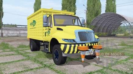 International DuraStar chipper truck für Farming Simulator 2017