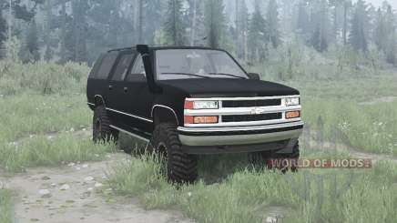 Chevrolet Suburban (GMT400) 1994 pour MudRunner