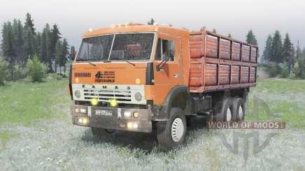 Le 6x4 KamAZ 5320 v2.0 pour Spin Tires