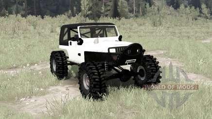 Jeep Wrangler (YJ) crawler pour MudRunner