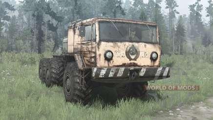 MAZ 535 6x6 für MudRunner