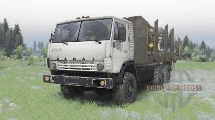 KamAZ-5320 6x6 pour Spin Tires