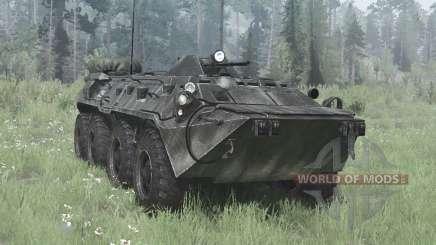 BTR-80 (GAZ-5903) pour MudRunner