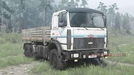 MAZ-6317 6x6 für MudRunner