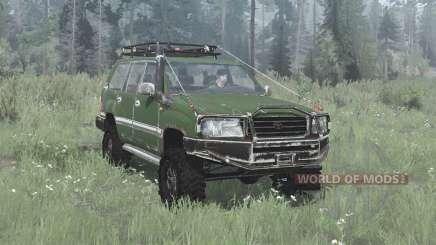 Toyota Land Cruiser 100 (J100) 2002 off-road pour MudRunner