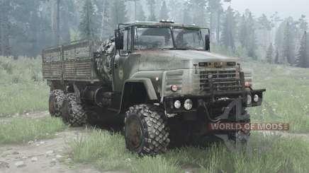 KrAZ 260 6x6 für MudRunner