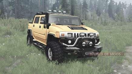 Hummer H2 SUT off-road pour MudRunner