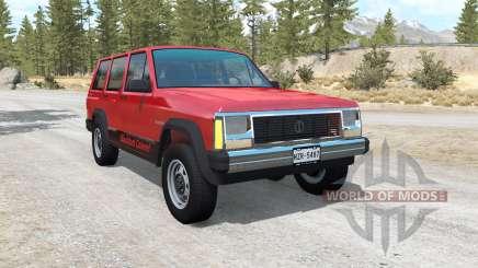 Jeep Cherokee (XJ) für BeamNG Drive