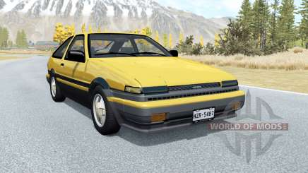 Toyota Corolla GT-S Sport liftback (AE86) 1985 pour BeamNG Drive