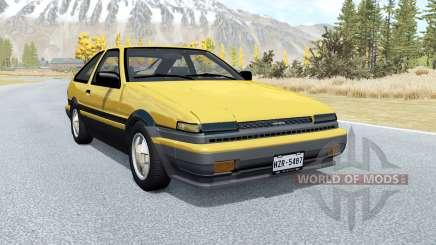 Toyota Corolla GT-S Sport liftback (AE86) 1985 pour BeamNG Drive