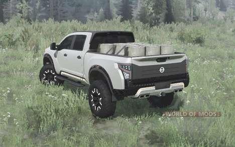 Nissan Titan Warrior concept 2016 pour Spintires MudRunner