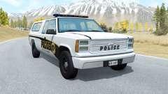 Gavril D-Series Firwood Police Department v5.3 für BeamNG Drive