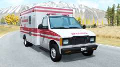 Gavril H-Series Turkish Ambulance skin pour BeamNG Drive