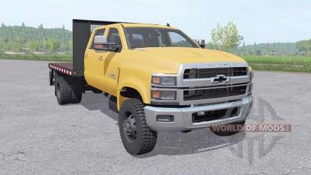 Chevrolet Silverado 4500HD Crew Cab 2018 v1.1 für Farming Simulator 2017