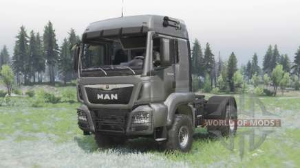 MAN TGS 18.440 4x4 v1.3 pour Spin Tires