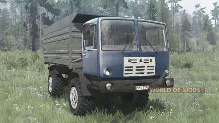 KAZ 4540 Kolchis blau für MudRunner