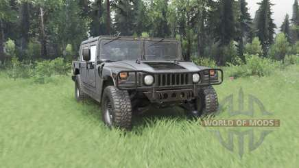 Hummer H1 4-door pickup 1992 pour Spin Tires
