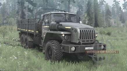 Ural 4320-60M pour MudRunner