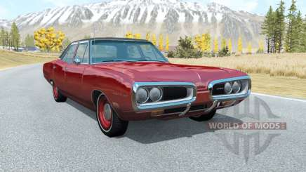 Dodge Coronet sedan (WP41) 1970 v2.22 pour BeamNG Drive