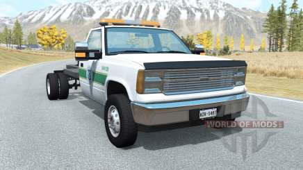 Gavril D-Series flatbed v1.3 pour BeamNG Drive