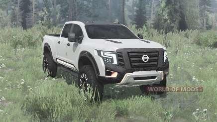 Nissan Titan Warrior concept 2016 pour MudRunner