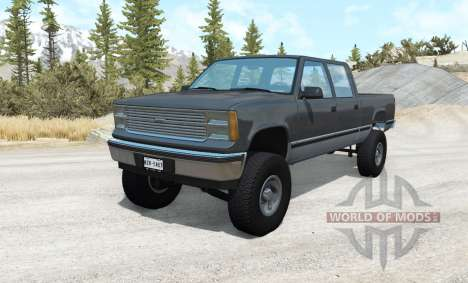 Gavril D-Series lifted pour BeamNG Drive