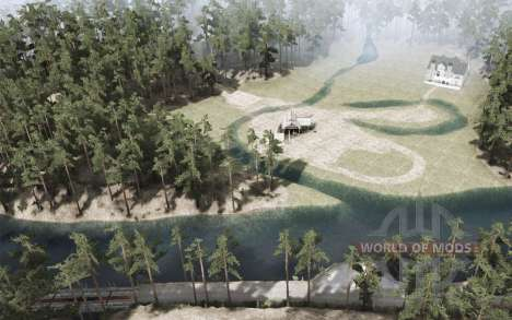 Le Grand Lac pour Spintires MudRunner