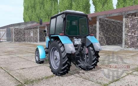 Belarus MTZ 1025 travail de la lumière pour Farming Simulator 2017