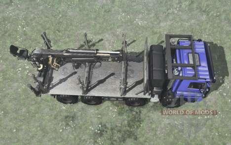 Tatra Phoenix T158 8x8 bleu pour Spintires MudRunner
