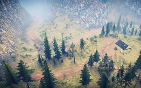 La luna 14 - Extreme logging 2 pour Spintires MudRunner