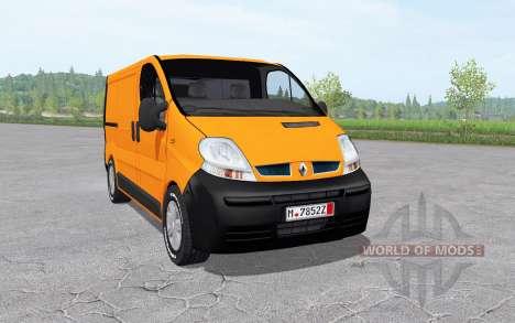 Renault Trafic Van (X83) 2001 pour Farming Simulator 2017