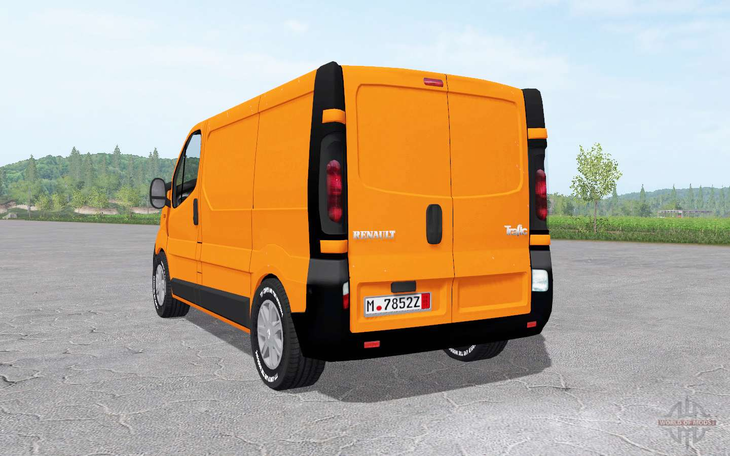 renault trafic van x83 2001 pour farming simulator 2017. Black Bedroom Furniture Sets. Home Design Ideas